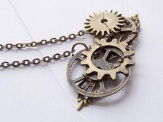 Look:  Steampunk Necklace