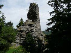 Rejvíz, Kobrštejn (Ruin of a Gothic Castle - 14th century)