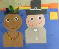 Mrs. Karen's Preschool Ideas: Let's Talk Turkey (and Pilgrims & Indians)!