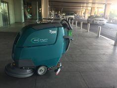 Nueva Tennant T300 en en el Aeropuerto Adolfo Suárez en Madrid.