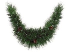 """6' x 14"""" Maryland Pine Artificial Christmas Garland with Pine Cones - Unlit"""