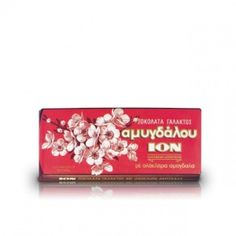 ION Milk Chocolate Amigdalou with Almonds 100g