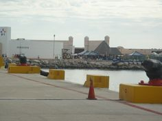 The Dock in Progresso Mexico...it was ok, city is very poor