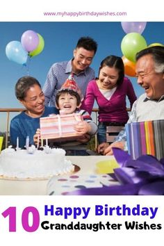 Looking for a Happy Birthday wish for your granddaughter? Well, you have come to the right place. Here you'll find 10 granddaughter birthday wishes for little girls and adults. Take a look and find one your granddaughter will love! Happy Birthday Wishes For A Friend, Special Birthday Wishes, Happy 10th Birthday, Birthday Wishes Funny, Friendship Birthday Quotes, Best Birthday Quotes, Family Stock Photo, Presents For Girlfriend, Generation Photo