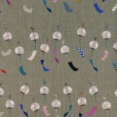 Shop | Category: Cotton & Steel | Product: Zephyr Chime Linen Canvas Linen
