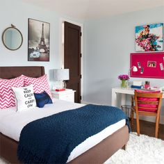 Many parents tend to overlook the fact that as children grow up, so does the need for a bedroom that is better suited to a young adult. S...