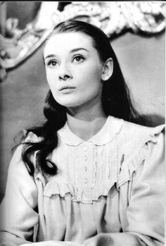 Sweet Audrey Hepburn in Roman Holiday