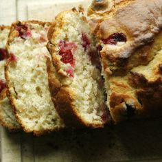 On the harvest that wasn't (Cranberry Quick Bread)