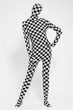 Morphsuit Disappearing Man Costume