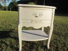 Hey, I found this really awesome Etsy listing at https://www.etsy.com/listing/210444548/shabby-chic-decor-side-table