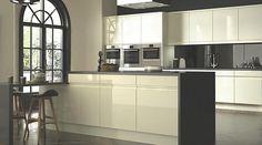 B&Q Appleby Cream, Cooke & Lewis Kitchen Doors & Drawer Fronts, Cooke & Lewis Kitchens New Kitchen Cabinet Doors, Cabinet Door Storage, Modern Kitchen Cabinets, Kitchen Flooring, Rustic Kitchen, Diy Kitchen, Kitchen Design, Kitchen Ideas, Ivory Kitchen