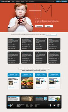 Marqeta homepage by Duncan/Channon, via Flickr