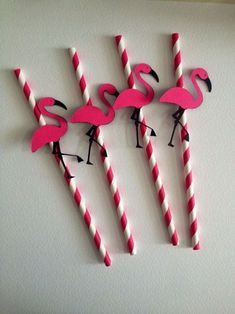 Flamingo Party Straws Flamingo Party Door Sign by MiaSophias Flamingo Party Supplies, Pink Flamingo Party, Flamingo Birthday, Pink Flamingos, Birthday Party Decorations, Birthday Parties, Luau Party, Party Packs, Party Time