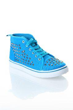 Rasolli Star-2 Sneakers In Turquoise