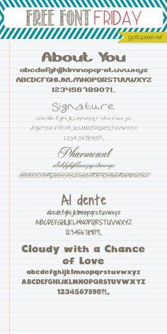 Free Font Friday #57 - Gotta Pixel