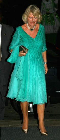 Camilla, Duchess of Cornwall arrives for a dinner at the President's Residence on the second day of a three day tour of Trinidad and Tobago on March 2008 near Port of Spain, Trinidad. Camilla Parker Bowles, Royal Throne, Camilla Duchess Of Cornwall, Windsor, Prince And Princess, Prince Of Wales, Queen Elizabeth Ii, Royal Fashion, Duke And Duchess