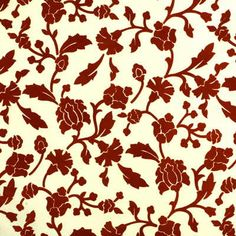 Sourced from India- Couture Flock Tangerine Lee Jofa Fabric by designer Eric Cohler