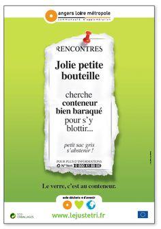 ANGERS LOIRE MÉTROPOLE  Campagne prévention déchets (menée avec Liner Communication)