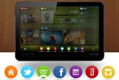 Chameleon adaptive Android home screen returns to view, Kickstarter