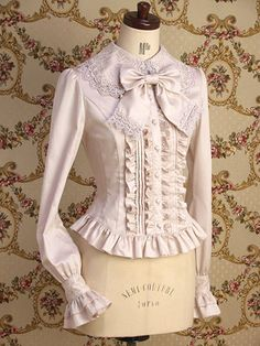 PETIT BLOUSE FOOL [SHELL PINK] - MARY MAGDALENE