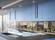 Keuken van de toekomst.