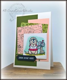 KOCreations Stampin' Up! Blog: Crazy Crafters Blog Hop with special guest ~ Danielle Kassing