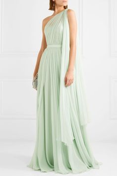 Satin Gown, Chiffon Gown, Silk Gown, Bridesmaid Dresses, Prom Dresses, Formal Dresses, Elegant Dresses, Beautiful Dresses, Alexander Mcqueen Clothing