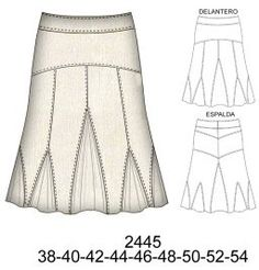 Circle Skirt Pattern, Midi Flare Skirt, Types Of Skirts, Long Skirts For Women, Skirt Patterns Sewing, Formal Skirt, Edwardian Dress, Sewing Clothes, Fashion Sketches