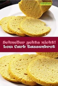 Low Carb Tassenbrot