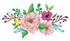 NaLaN'ın Dünyası : 55 Etamin Çiçek Şablonu - İndirmek Ücretsiz