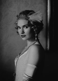 Downton Abbey's Lady Rose (Lily James) announced at the end of last season that she was planning to move to New York with her new husband..