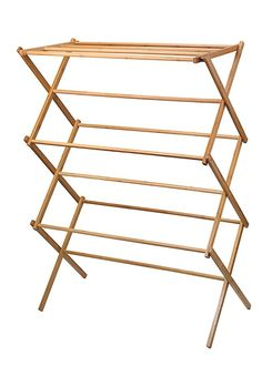 6dc9b83bbc2 Home-it clothes drying rack - Bamboo Wooden clothes rack - heavy duty cloth  drying