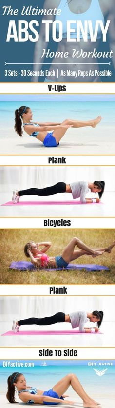 Ab Workout | Posted Ab Workout | Posted By: NewHowToLoseBelly... #girls #fitness #fitgirls #fitnessmotivation #abs