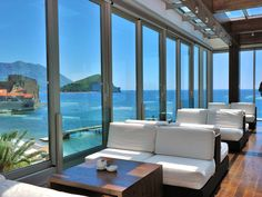Aperitif Panoramic Bar & Lounges Hotel Avala Resort and Villas, Budva, Montenegro