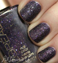 L'Oréal Paris Colour Riche Gold Dust Textured Nail Polish Swatches - Sexy in Sequins | AllLacqueredUp.com