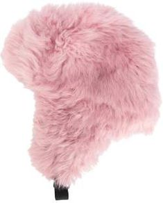 Shop trapper hat women polyamide lamb fur green from Moncler Grenoble in  our fashion directory. 94b763a8e
