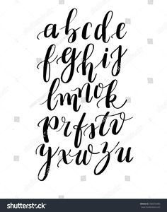 Calligraphy hand-written fonts Handwritten brush style modern calligraphy cursive typeface Illustration about print style handwriting typeface calligraphy alphabet - 98367456 Alphabet Cursif, Fonte Alphabet, Calligraphy Fonts Alphabet, Handwriting Alphabet, Hand Lettering Alphabet, Font Styles Alphabet, Font Styles Handwriting, Pretty Fonts Alphabet, Writing Styles Fonts