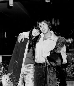 Pin for Later: The Most Stylish Music Couples of All Time Sonny Bono and Cher