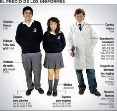 Vestir a un niño para regresar a la escuela costará alrededor de ...
