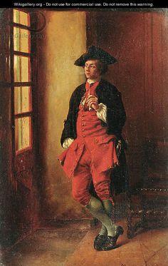 Gentleman with a pipe - Jean-Louis-Ernest Meissonier