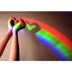 rainbow heart plur love hippie peace prizmeyez