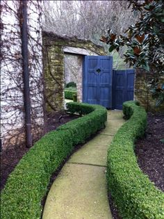 garden door by page duke landscape architects