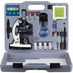 Microscopes and Chemistry 2568: Amscope Kids 52-Piece Microscope Kit -> BUY IT NOW ONLY: $54.99 on eBay!