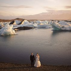 Iceland wedding. A destination wedding that seems like a sure-fire way to keep anyone from coming. Maybe I can convince Mark of THIS. :-P