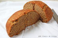 Pan integral – Mi Diario de Cocina Tapas, Banana Bread, Health Fitness, Desserts, Food, Healthy Breads, Healthy Baking, Coconut Cakes, Cake Recipes