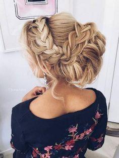 Ulyana Aster Long Wedding Hairstyles & Wedding Updos