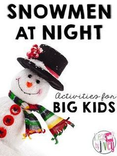 Snowmen at Night is