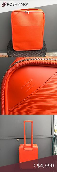 Check out this listing I just found on Poshmark: Louis Vuitton Pegase 55 Epi Suitcase. #shopmycloset #poshmark #shopping #style #pinitforlater #Louis Vuitton #Handbags Louis Vuitton Suitcase, Louis Vuitton Keepall 55, Louis Vuitton Dust Bag, Louis Vuitton Speedy 35, Vintage Louis Vuitton, Authentic Louis Vuitton, Louis Vuitton Monogram, Peep Toe Shoes, To My Daughter