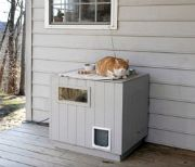 Feral Cats : The Humane Society -- plans for this outdoor house!
