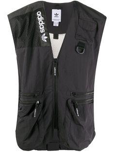 $60.0. ADIDAS ORIGINALS Jacket Adventure Trail Vest #adidasoriginals #jacket #vest #clothing Ethical Brands, Panelling, Supply Chain, Scores, Eco Friendly, Trail, Mesh, Adidas, Pockets